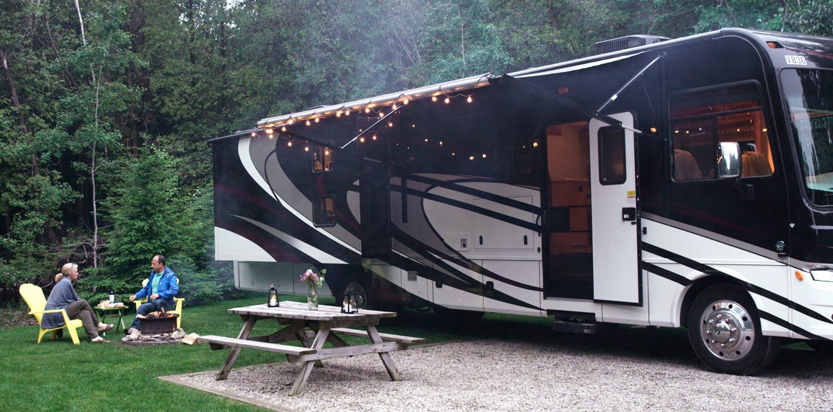 motorhome camping ontario
